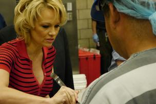 Pamela Anderson visits Phoenix to promote vegan meals at Maricopa County jails